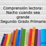 Comprensión lectora: Nacho cuando sea grande – Segundo grado primaria