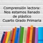 Comprensión lectora: Nos estamos llenando de plástico – Cuarto grado primaria