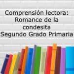 Comprensión lectora: Romance de la condesita – Segundo grado primaria