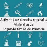 Actividad de ciencias naturales: Viaje al Agua – Segundo grado de primaria